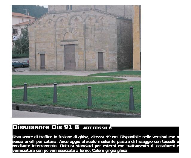 Dissuasore - ART.DIS 91 B