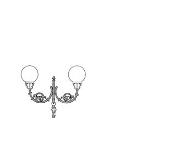 Lampioni in ghisa - ART.210/2