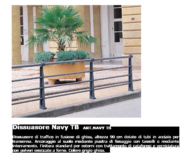 Dissuasore - ART.NAVY TB