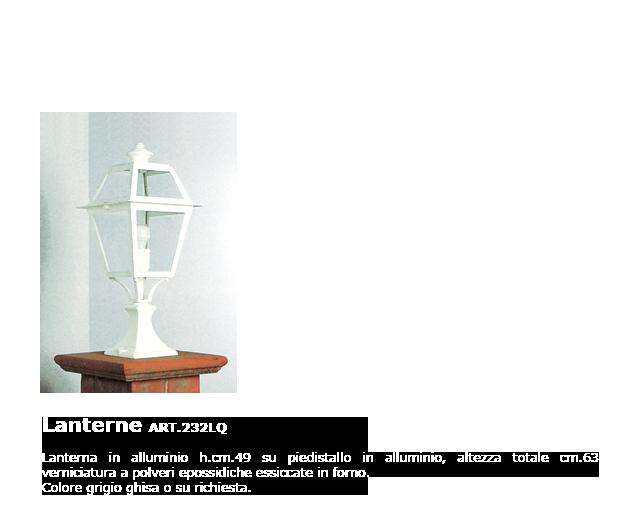 Lanterne - ART.232LQ