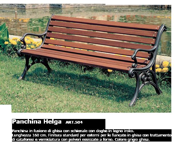 Panchina Helga - ART.504