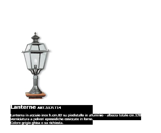 Lanterne - ART.517LT14