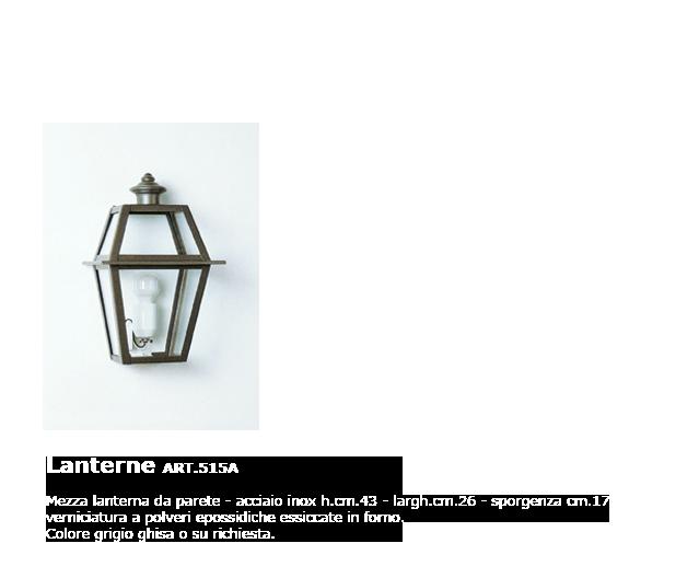 Lanterne - ART.515A