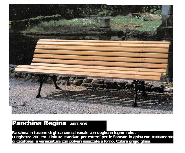 Panchina Regina - ART.505