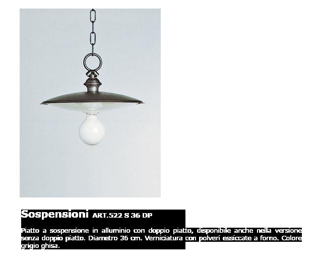 Sospensioni - ART.522 S36 DP