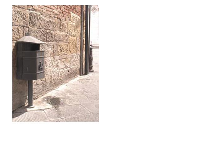 Porta rifiuti - ART.ORBI