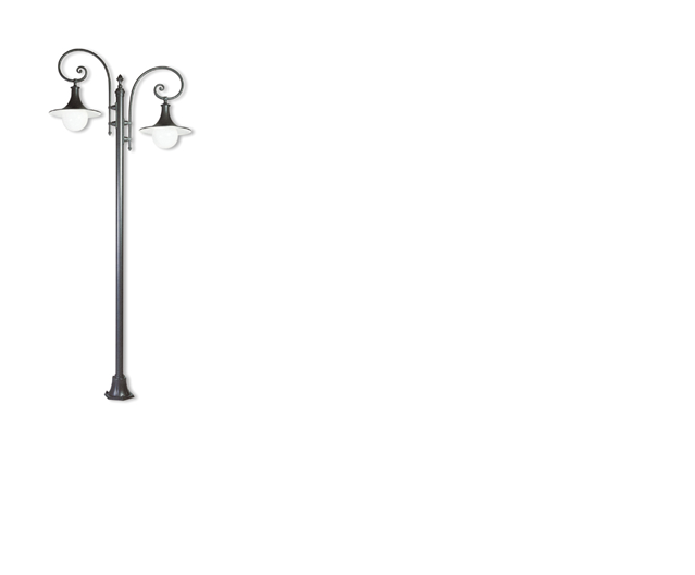 Lampioni in alluminio - ART.547/2 20