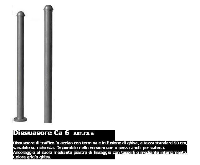 Dissuasore - ART.CA 6