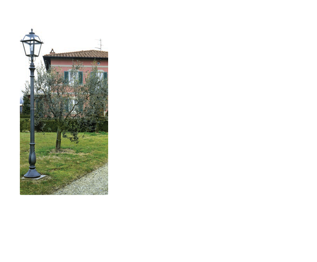 Lampioni in ghisa - ART.210/1L